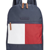Tommy Hilfiger Colorblock Flag Nylon Backpack - Handbags & Accessories - Macy's