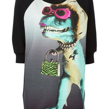 Moschino Cheap & Chic dinosaur print sweatshirt