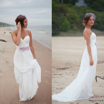 Perfect Beach Wedding Dress 26 Colors From TingBridal On Etsy