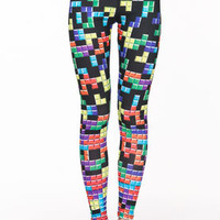 Tetris Leggings - LoveCulture