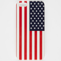 American Flag Iphone 5/5S Case Red/White/Blue One Size For Men 26254594801