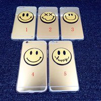 Cosmetic Mirror Smiling Face Case Cover for iphone  6 6s Plus Gift