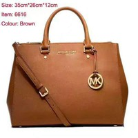 MK Women Leather Luggage Travel Bags Tote Handbag  G-LLBPFSH