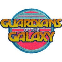 GUARDIANS Of The GALAXY Retro Logo Marvel Comics Patch CD-PMVL0012