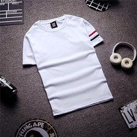 Summer Fashion Men's Fashion 3-color Short Sleeve T-shirts [6544707843]