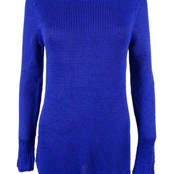 Ralph Lauren Women's Crewneck Tunic Sweater