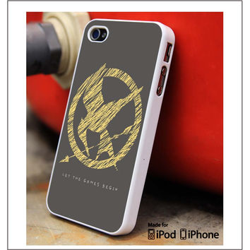 Hunger Games Begin iPhone 4s iPhone 5 iPhone 5s iPhone 6 case, Galaxy S3 Galaxy S4 Galaxy S5 Note 3 Note 4 case, iPod 4 5 Case