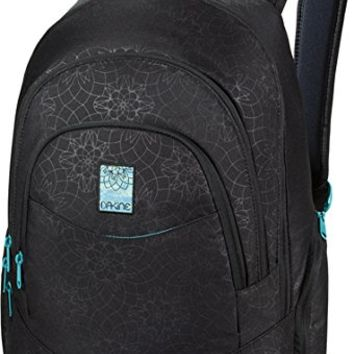 Dakine Prom Laptop Backpack, Blue Flowers, 25-Liter