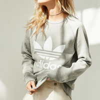 adidas Originals Trefoil Pullover Sweatshirt | Urban Outfitters