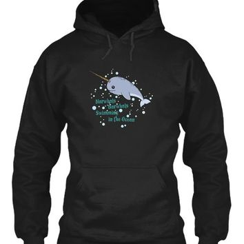 Awesome Narwhal Shirt   Unicorns Of The