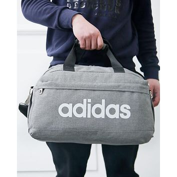 ADIDAS 2018 trendy men's and women's sports training bag F-A30-XBSJ Grey