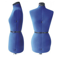 Fashion Maker Adjustable Dress Form - Diamond Series - Blue