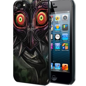 legend of zelda majora mask oni Samsung Galaxy S3 S4 S5 S6 S6 Edge (Mini) Note 2 4 , LG G2 G3, HTC One X S M7 M8 M9 ,Sony Experia Z1 Z2 Case