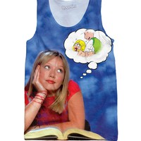 Lizzie McGuire's Thot Bubble Tank Top