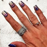 Impress Press-On Manicure Siriano Collection Stained Glass