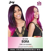 Zury SIS CF-H Bora Synthetic Wig Reversible 2 Colors in 1 style