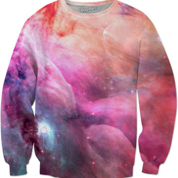 Pink Celestial Cloud Mist [Orion Nebula] | Universe Galaxy Nebula Star Space Clothes | Rave & Festival Shirt