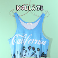 Enjoy Cali Summer Crop Tank Top