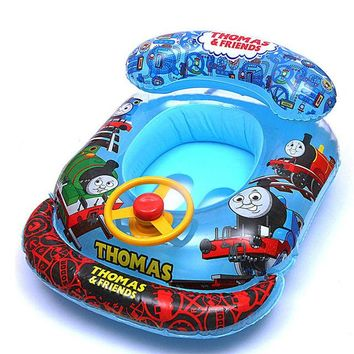 Swimming Pool beach New Arrival ABC Children Inflatable Swimming Rings Baby Girls BoysSwim Circle Swimming Laps Boats Kids Seat Float with SpeakerSwimming Pool beach KO_14_1
