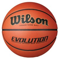 "Wilson Unisex Evolution High School Game Ball N/A Basketball Equipment 28.5"" Intermediate"