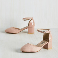 Swing Before Breakfast Heel in Rose
