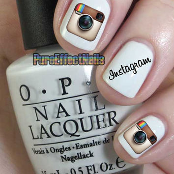 Instagram Nail Decals