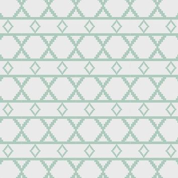 Green And Grey Diamond Pattern Printed Photography Backdrop - 6189