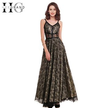 Summer Vintage Lace Long Dress Ankle-Length Petal Sleeve Fashion Dress Empire V-neck Elegant Lady Wears
