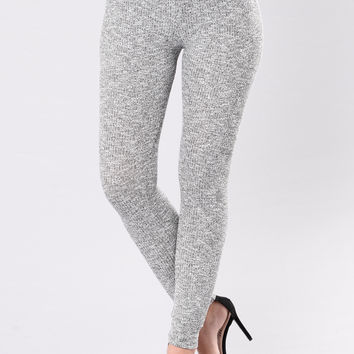 Kick Back Leggings - Grey