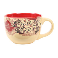 Harry Potter Marauder's Map Soup Mug