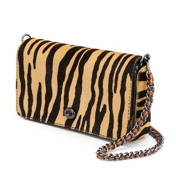 Coach 1941 'print Dinky' Animal Print Flap Closure Shoulder Bag - The Parliament - Farfetch.com