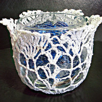 Round Catch-all Dish/Votive Candle Holder from Heritage Heartcraft