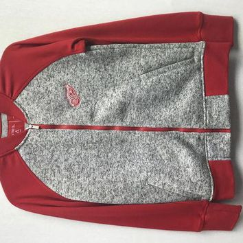 Nhl Detroit Red Wings Womens Visitor Jacket - Beauty Ticks