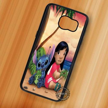 Ohana Lilo and Stitch Family - Samsung Galaxy S7 S6 S5 Note 7 Cases & Covers