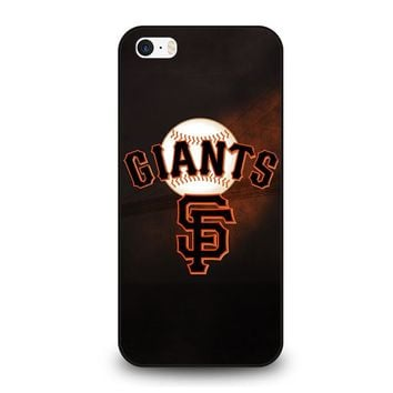 SAN FRANCISCO GIANTS 4 iPhone SE Case Cover