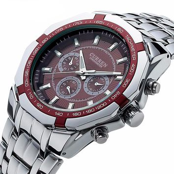 Men's Full Steel Casual Sport Watch