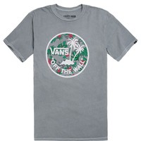 Vans Dual Palm T-Shirt - Mens Tee - Gray