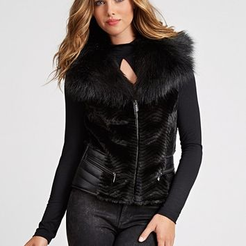 Sleeveless Gabby Vest | GUESS.com
