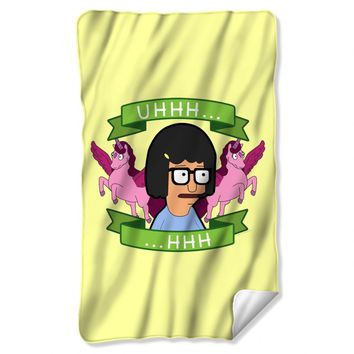 Bob's Burgers Tina Uhhh…Fleece Throw