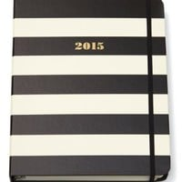 Kate Spade Large Agenda - Black Stripe