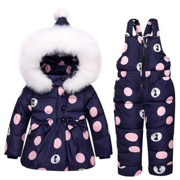 Toddler Down Jacket Snow Suit