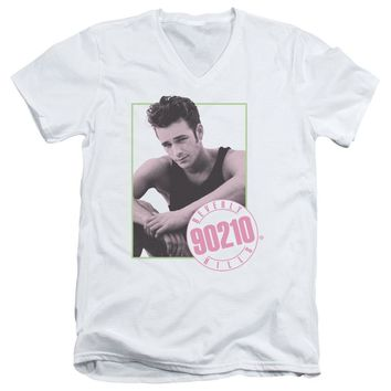 90210 - Dylan Short Sleeve Adult V Neck
