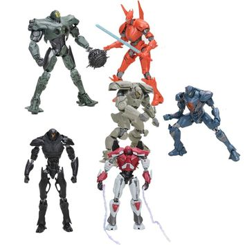 8styles 15cm NECA Pacific Rim SABER ATHERNA GIPSY AVENGER BRACER PHOENIX TITAN REDEEMER PVC Action Figure Collection Model Toy