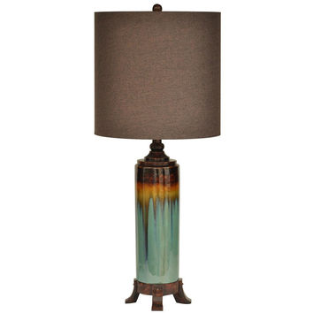 Crestview Collection Briston Ceramic Table Lamp