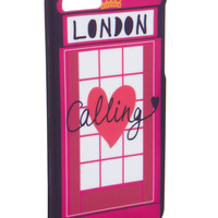 London Calling Case For Use With iPhone 5   Pink   Accessorize