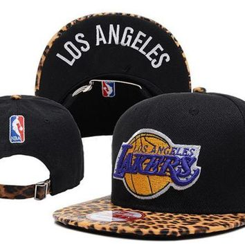 LMF8KY Los Angeles Lakers New Era NBA 9FIFTY Cap Black-Camouflage