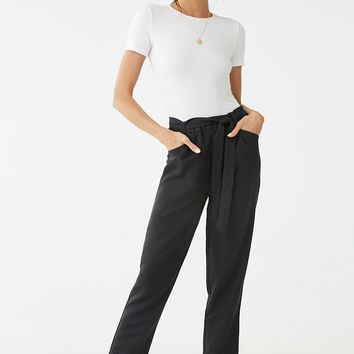 Belted Cuffed Pants