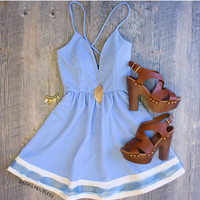 Modern Day Cinderella Dress in Periwinkle