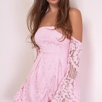 Steph Lace Playsuit