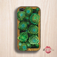 Succulent garden in an iPlanter - iPhone 4 Case, iPhone 4s Case and iPhone 5/5S/5C case